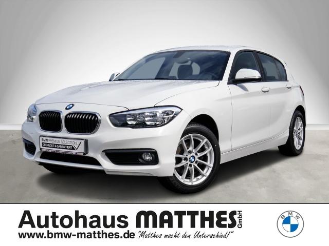 BMW 116 i Advantage Keyless LED Multif.Lenkrad RDC Klimaautom SHZ Temp, Jahr 2016, Benzin