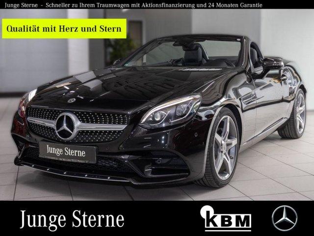 Mercedes-Benz SLC 300 AMG°COMAND°SPUR°SOUND°AIRSCARF°AIRGUIDE°, Jahr 2019, Benzin