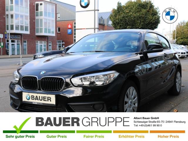BMW 116 i Klima Bluetooth CD USB Keyless LED-hinten LED-Tagfahrlicht Multif.Lenkrad RDC Klimaautom, Jahr 2017, Benzin