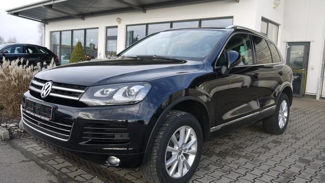 Volkswagen VW Touareg BMT 3.0 V6 TDI AHK Xenon Luftfederung, Jahr 2014, Diesel