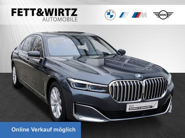 BMW 745Le xDrive Laser HUD Pano Sitzbel. TV+ H/K DAB, Jahr 2019, Hybrid