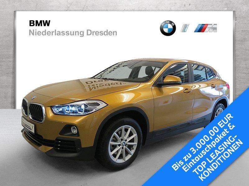 BMW X2 sDrive18d EURO6 Advantage LED RFK Navi Lenkradhz. AHK, Jahr 2019, Diesel