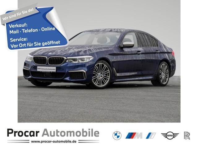 BMW M550i xDrive Innovationsp. Navi LED Sport Aut., Jahr 2018, Benzin