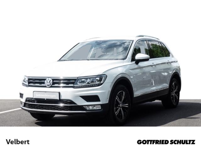 Volkswagen Tiguan 2.0 TSI DSG HIGHLINE NAVI LED AHK SHZ PDC, Jahr 2017, Benzin