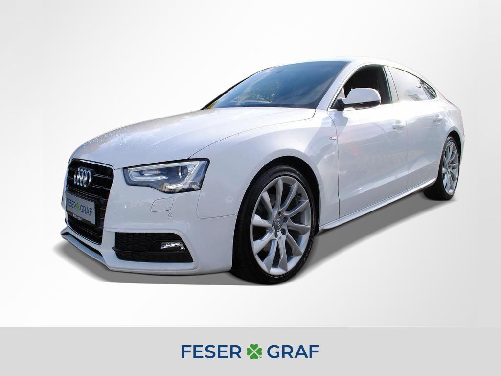 Audi A5 Sportback TDI S-tronic S-LINE Teilleder Navi., Jahr 2013, Diesel