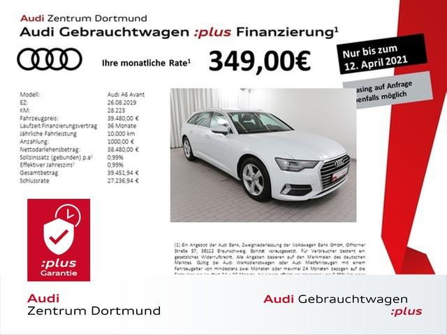 Audi A6 Avant sport 40TDI Navi+/Leder/AHK/Kamera, Jahr 2019, Diesel