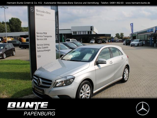 Mercedes-Benz A 180 (BlueEFFICIENCY) Style+Sitzheiz.+NAVI+PDC+, Jahr 2013, Benzin