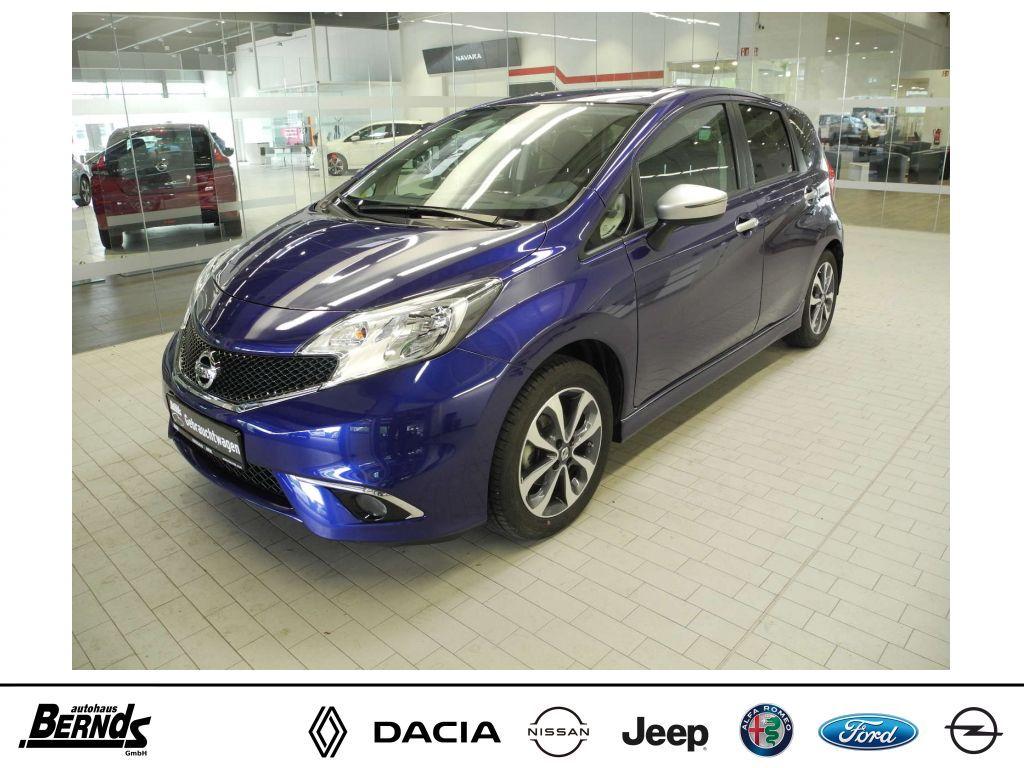 Nissan Note 1.2 n-tec NAVI KLIMA R.-KAMERA SHZ ISOFIX, Jahr 2015, Benzin