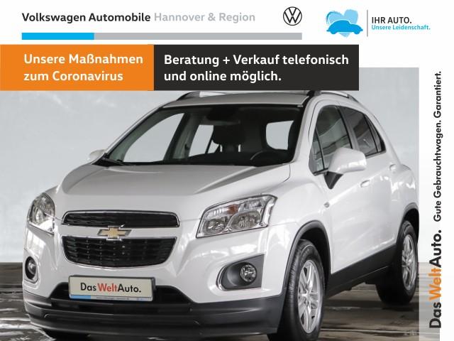 Chevrolet Trax 1.4 LS+ 4x4 GRA Klima Einparkhilfe, Jahr 2014, Benzin
