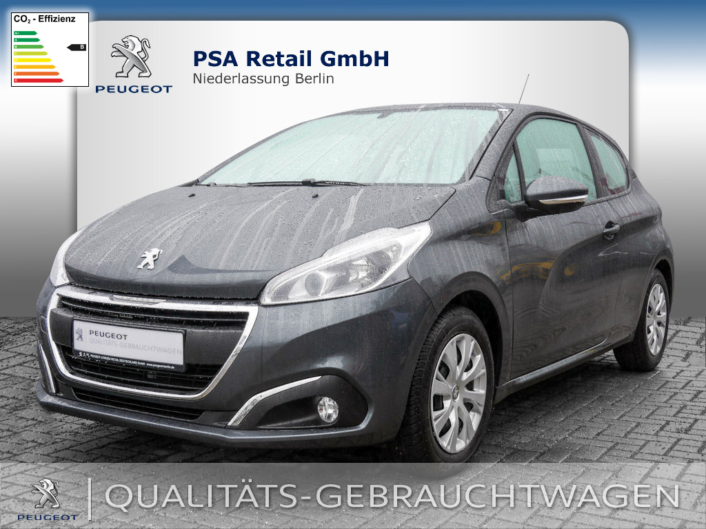 Peugeot 208 Active PureTech 1.2 82 VTi, Jahr 2016, Benzin