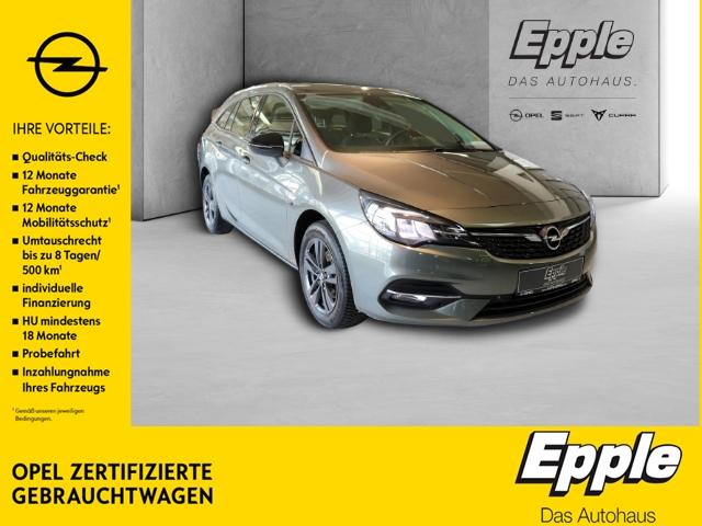 Opel Astra K Sports Tourer 2020 Start Stop 1.2 Turbo EU6d LED Navi Rückfahrkam. PDCv+h LED-Tagfahrlicht, Jahr 2020, Benzin