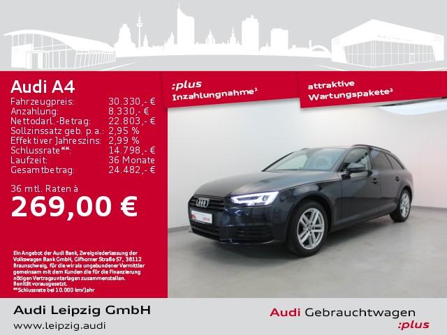 Audi A4 Avant 2.0 TFSI sport ultra S-tronic *LED*HuD*, Jahr 2018, Benzin