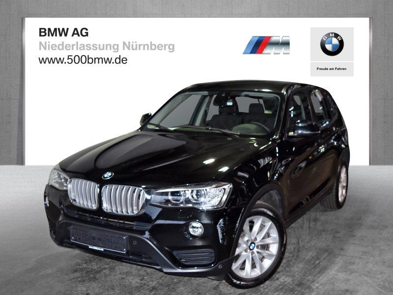 BMW X3 xDrive28i EURO6 Head-Up HiFi Xenon Navi Prof. RTTI Alarm, Jahr 2016, Benzin