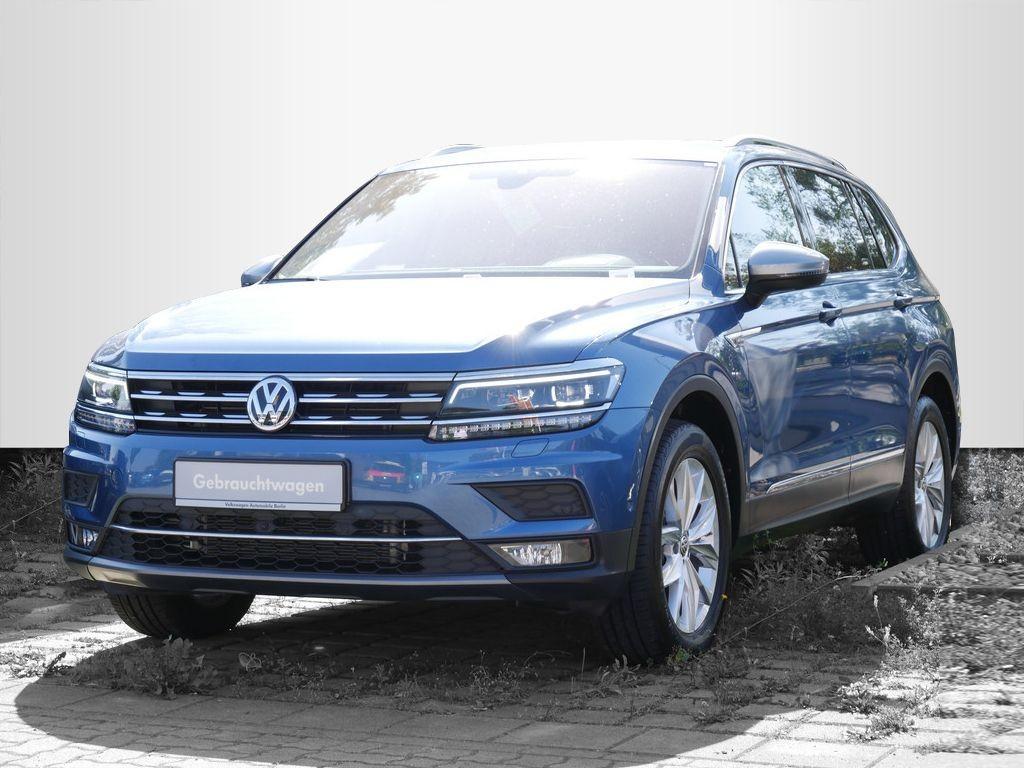Volkswagen Tiguan Allspace 2.0TSI DSG Highline 4x4 NAVI 7-Sitze LED, Jahr 2018, Benzin