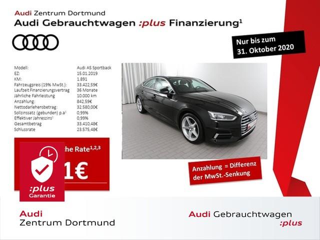 Audi A5 Sportback sport 35TDI Navi/LED/DAB/AHK, Jahr 2019, Diesel