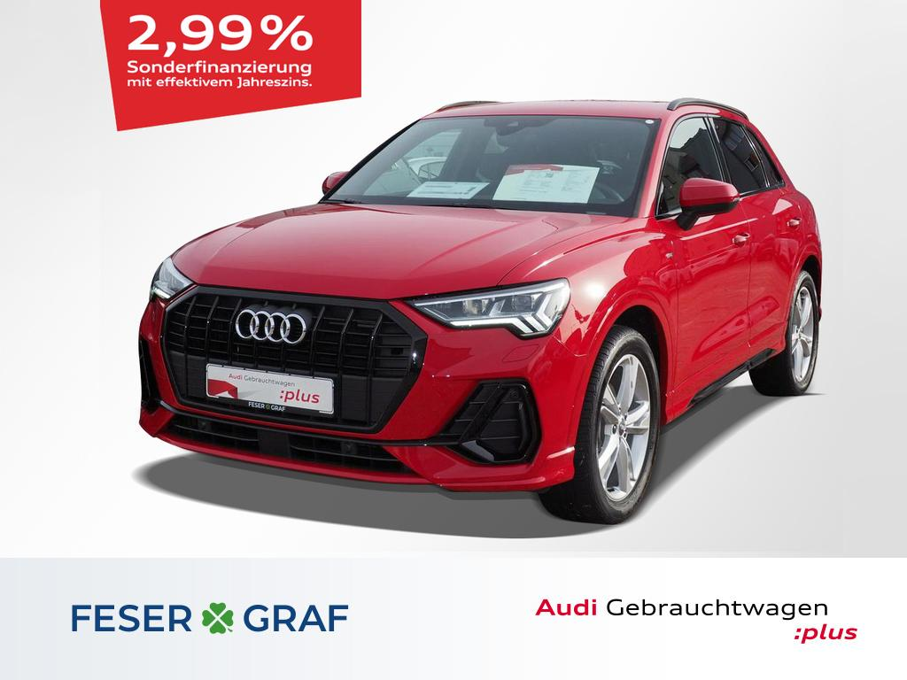 Audi Q3 S line 35 TDI S tronic AHK matrix-LED Navi, Jahr 2020, Diesel