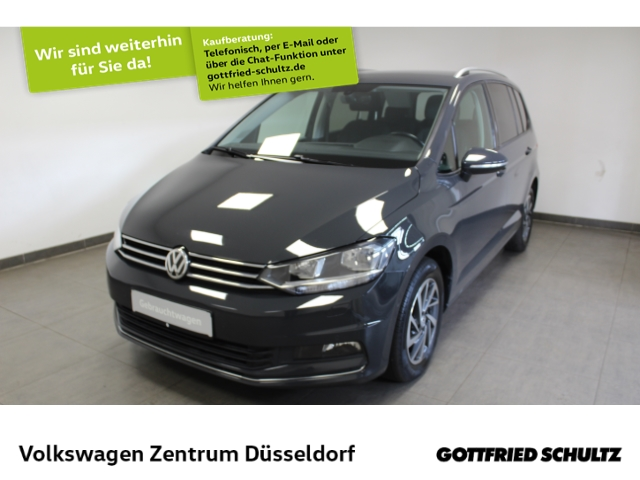Volkswagen Touran Sound 2.0 TDI *Navi*AHK*TrailerAssist*Kamera*SHZ*, Jahr 2018, Diesel