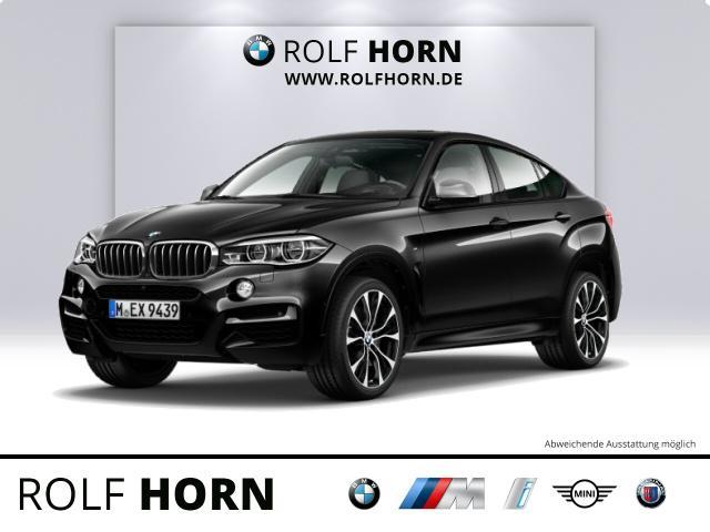 BMW X6 M50d M Sportpaket AHK HUD Navi Glasd H&K LED, Jahr 2017, Diesel