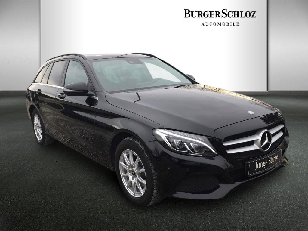 Mercedes-Benz C 200 d T-Modell LED/AHK/Kamera/Navi/PDC, Jahr 2016, Diesel