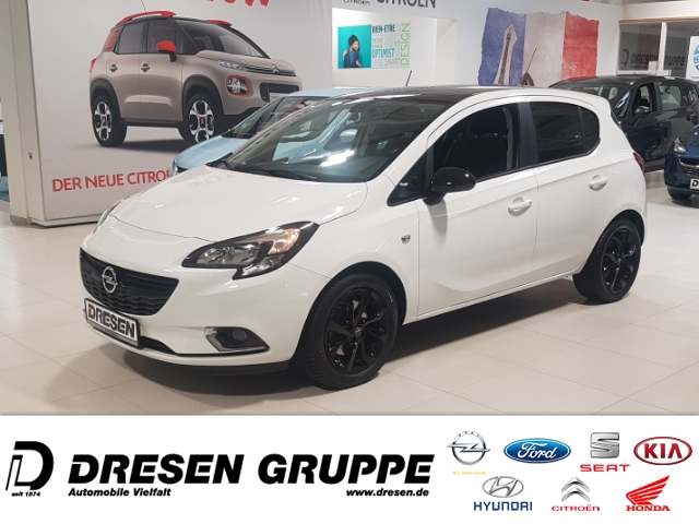 Opel Corsa E 1.4 Turbo Color Edition 5Tg. Klima SHZ Temp PDC USB ESP, Jahr 2016, Benzin