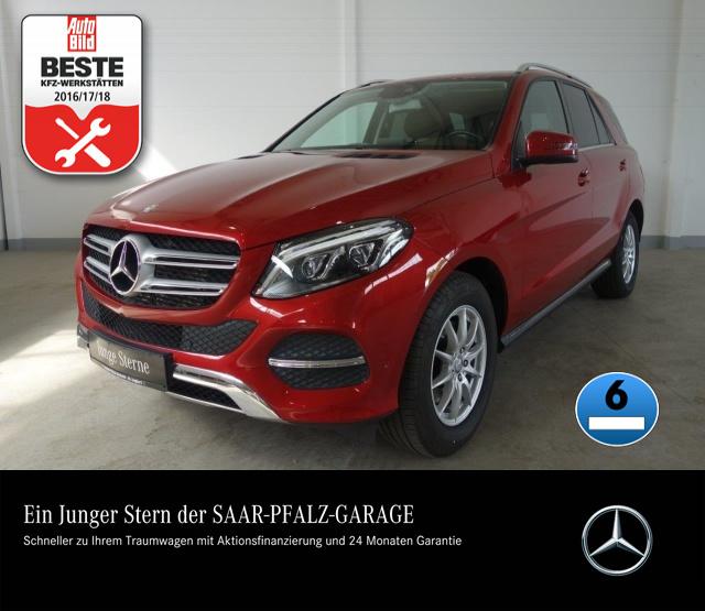 Mercedes-Benz GLE 350d 4M 9G-TRONIC*AIRMATIC*LED*AHK*KLIMAAUTO, Jahr 2016, Diesel