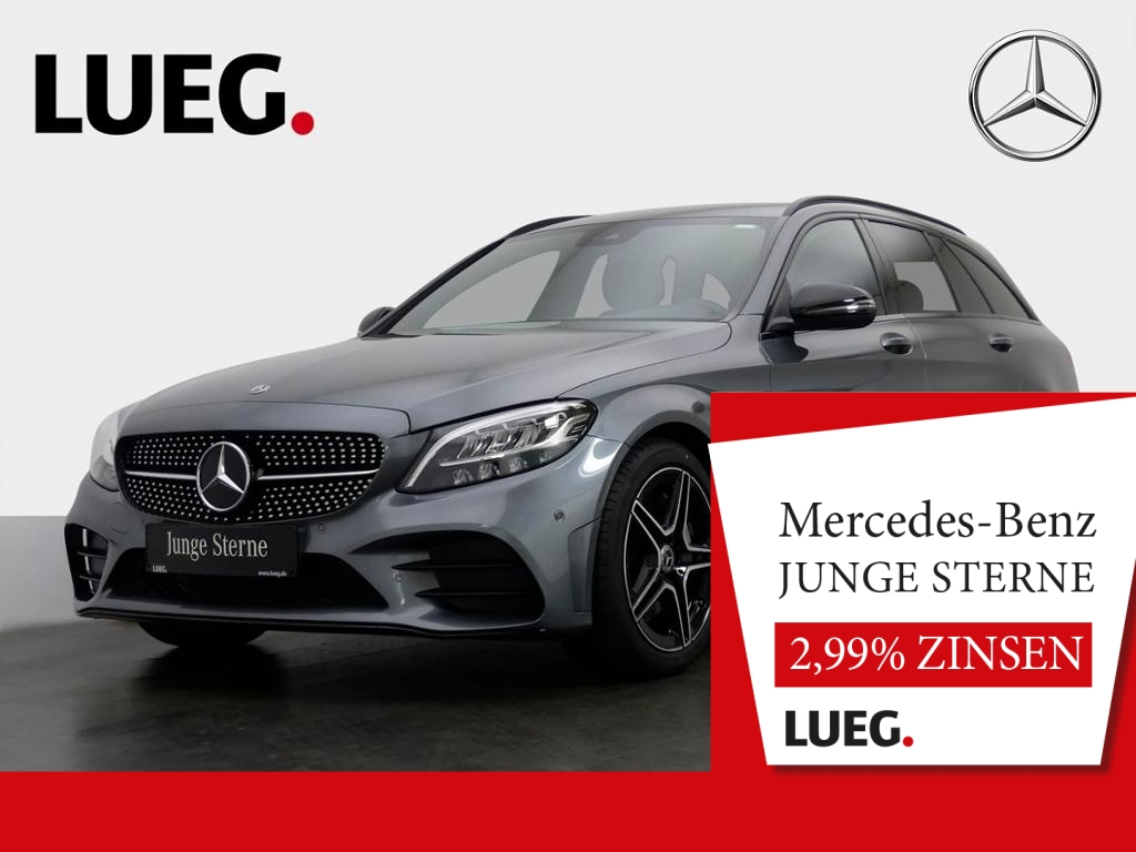 mercedes-benz c 300 d t amg com led-hp spurp night carp kamera, jahr 2019, diesel
