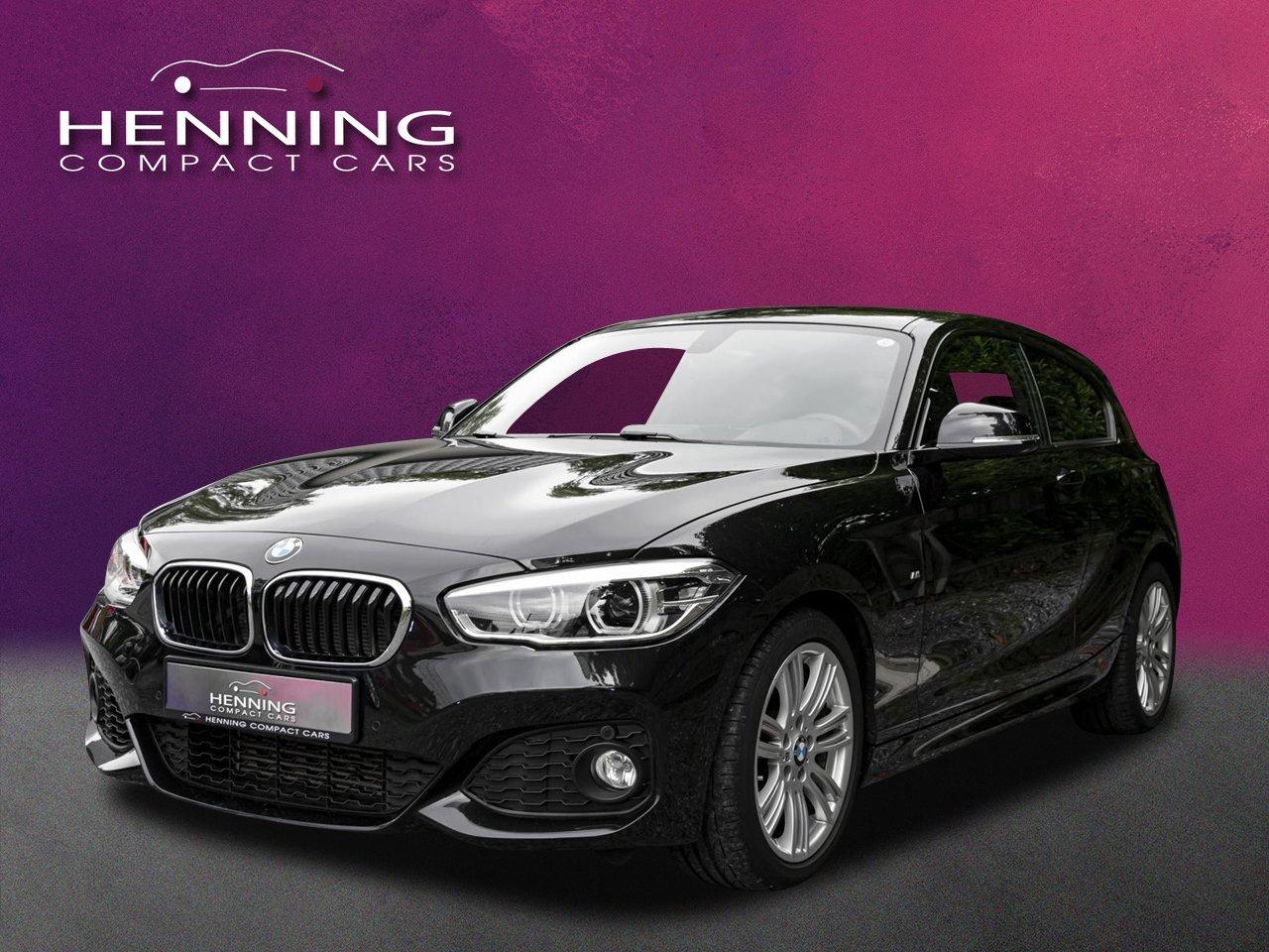 BMW 118i M Sport-Paket Facelift LED-PDC-LCI-Tempomat, Jahr 2016, Benzin
