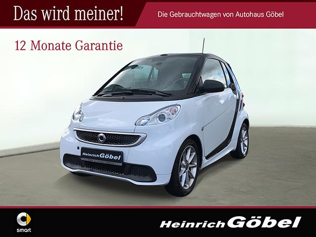 smart fortwo cabrio mhd 52 kw Navi, Jahr 2012, Benzin