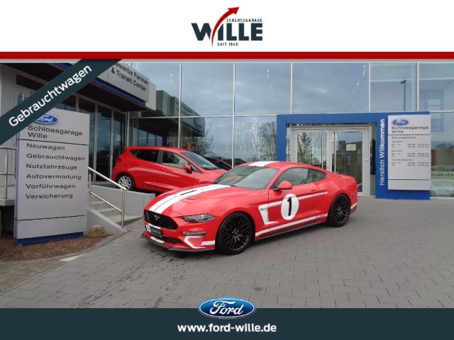 Ford Mustang GT V8 Race-Red Topausstattung!!, Jahr 2019, Benzin