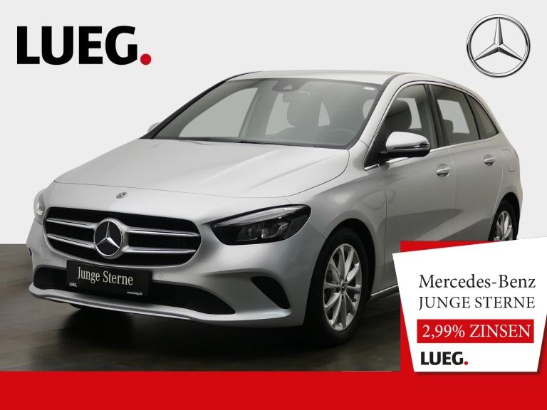 Mercedes-Benz B 180 Progressive+MBUX+NavPrem+LED+Totw+Spur+RFK, Jahr 2019, Benzin