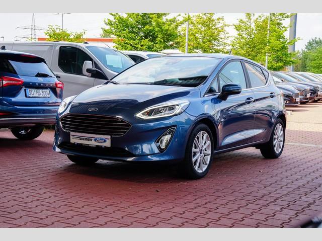 Ford Fiesta 1.0l EcoBoost Titanium Lim.5-Tür.6-Gang Navi, Jahr 2020, Benzin