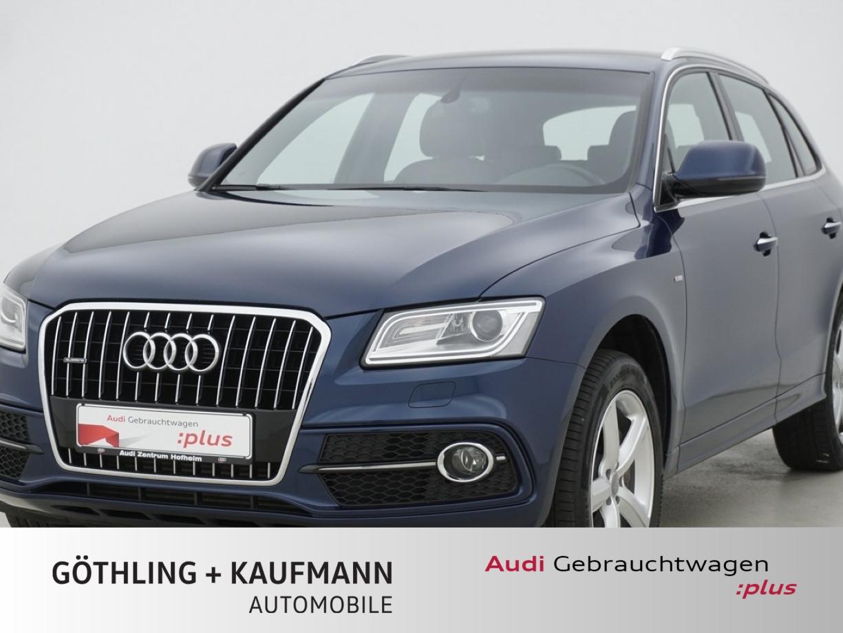 Audi Q5 3.0 TDI qu. 2x S line tip. 190kW*Standh.*AHK*, Jahr 2016, Diesel