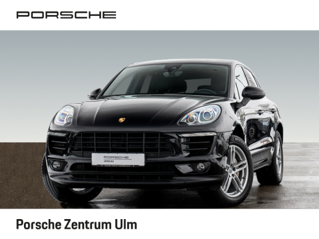 Porsche Macan S Luftfederung Lenkradheizung Sitzheizung, Jahr 2015, Benzin