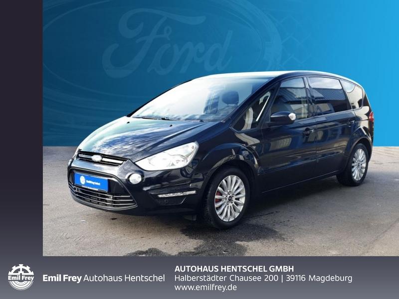 Ford S-Max 1.6 EcoBoost Business NAVI Winterpaket, Jahr 2013, petrol