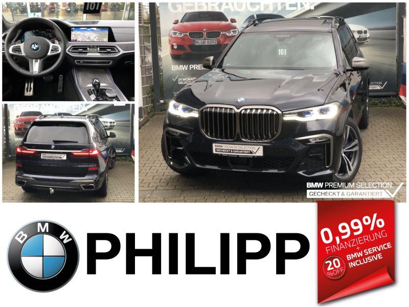 BMW X7 M50i Laser Pano Sky St.Hz. DA Prof. AHK Sitzlüftung, Jahr 2020, Benzin