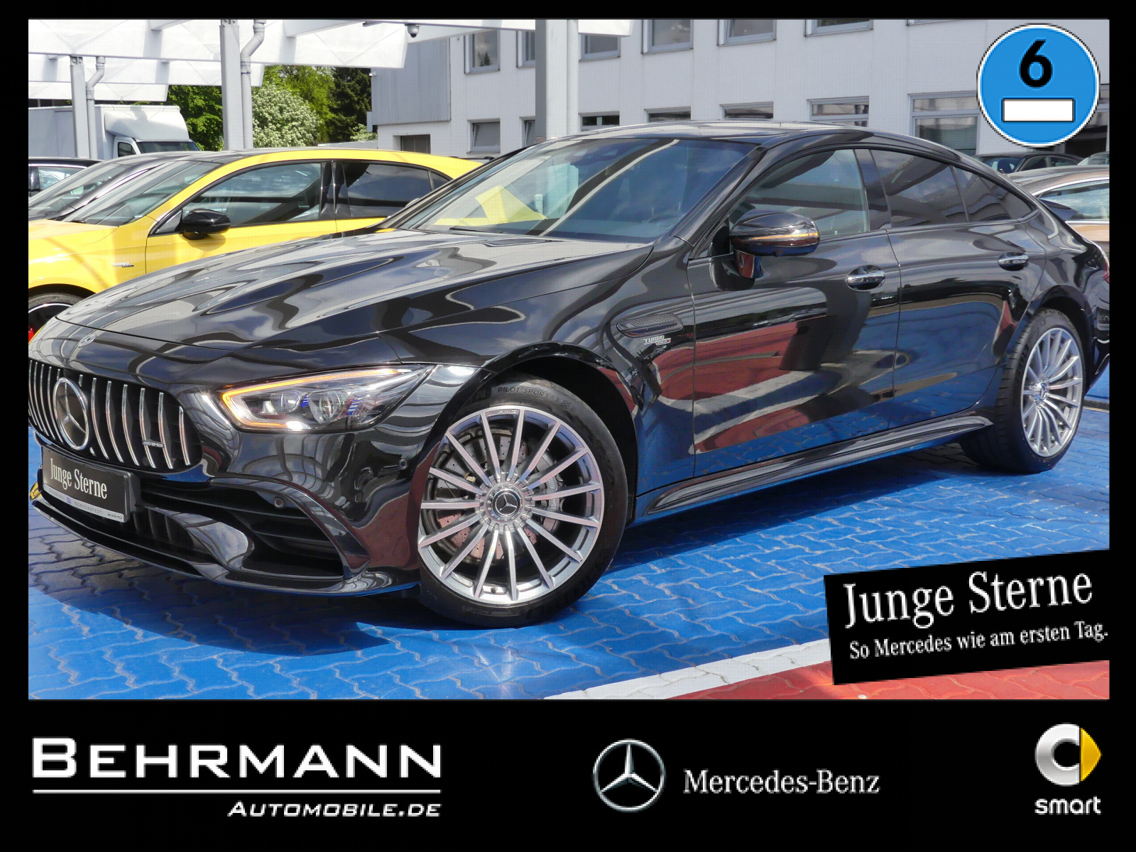 Mercedes-Benz AMG GT 43 4M ++Distronic+360°Kam+Burmester+LED++, Jahr 2019, Benzin