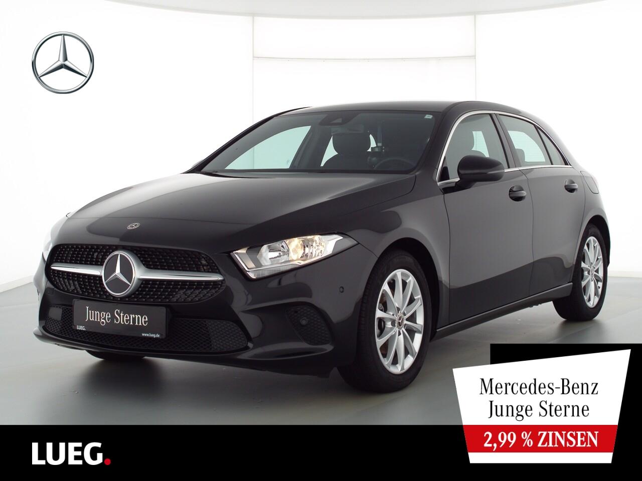 Mercedes-Benz A 160 Progressive+MBUX+NavPrm+Spur+ParkAssistent, Jahr 2020, Benzin