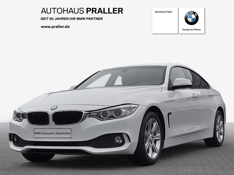 BMW 418d Gran Coupé Navi AHK HiFi DAB Xenon, Jahr 2016, diesel