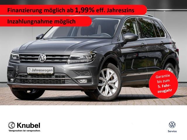 Volkswagen Tiguan Highline 2.0 TDI DSG Fahrass+ AHK ActiveI, Jahr 2019, Diesel