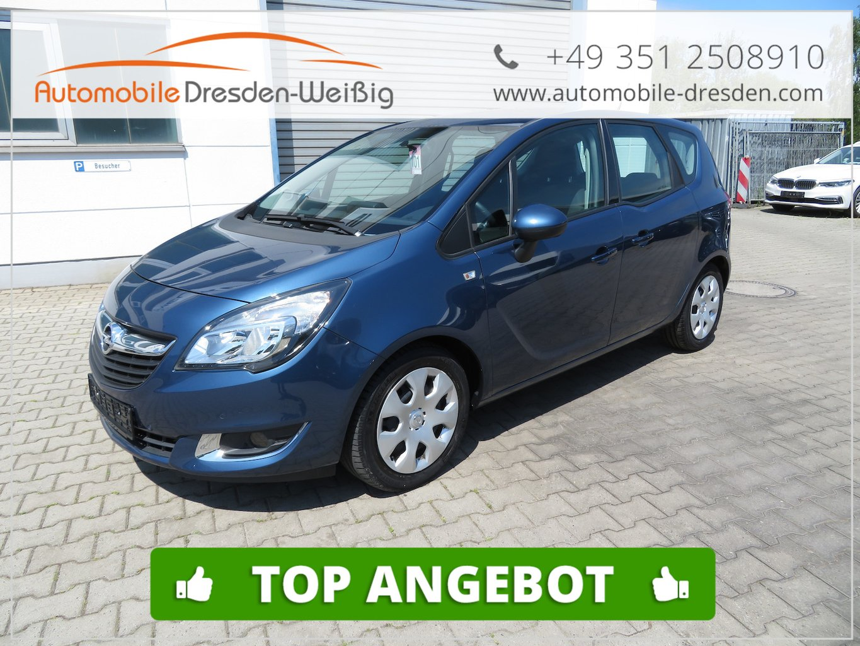 Opel Meriva 1.6 CDTI B Edition*Euro6*Navi*Quickheat, Jahr 2016, Diesel