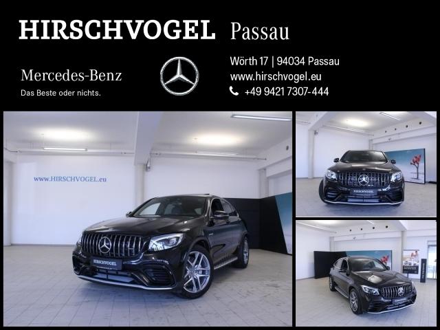 Mercedes-Benz GLC 63 AMG 4M SD+Distronic+AHK+Com+ILS+Burmester, Jahr 2018, petrol