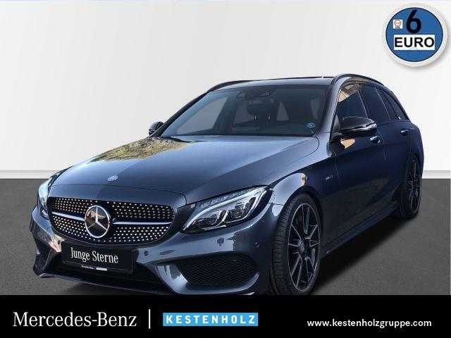 Mercedes-Benz C 450 AMG T 4M+PANO+BURMESTER+DISTRO+COMAND+PTS, Jahr 2016, Benzin