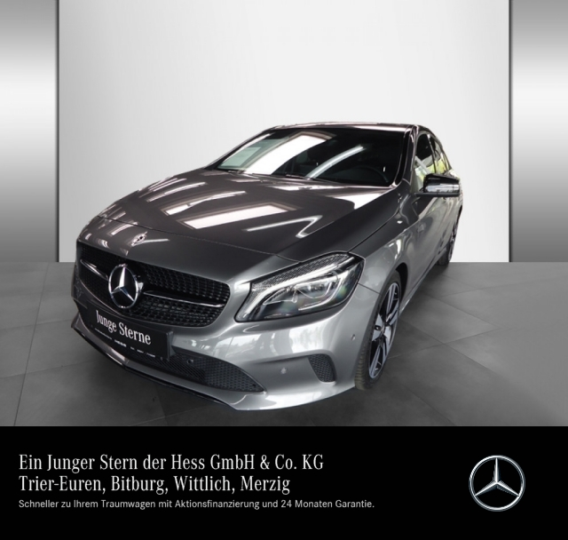 Mercedes-Benz A 220 d Urban+Night+LED+AHK+Kamera+Navi+PDC, Jahr 2017, Diesel