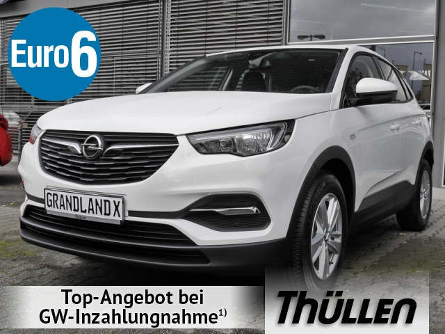 Opel Grandland X Edition 1.2 Start/Stop Bluetooth Klima, Jahr 2018, petrol