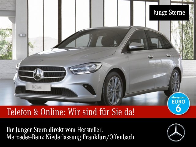 Mercedes-Benz B 180 Navi Premium AHK Laderaump Spurhalt-Ass PTS, Jahr 2019, Benzin
