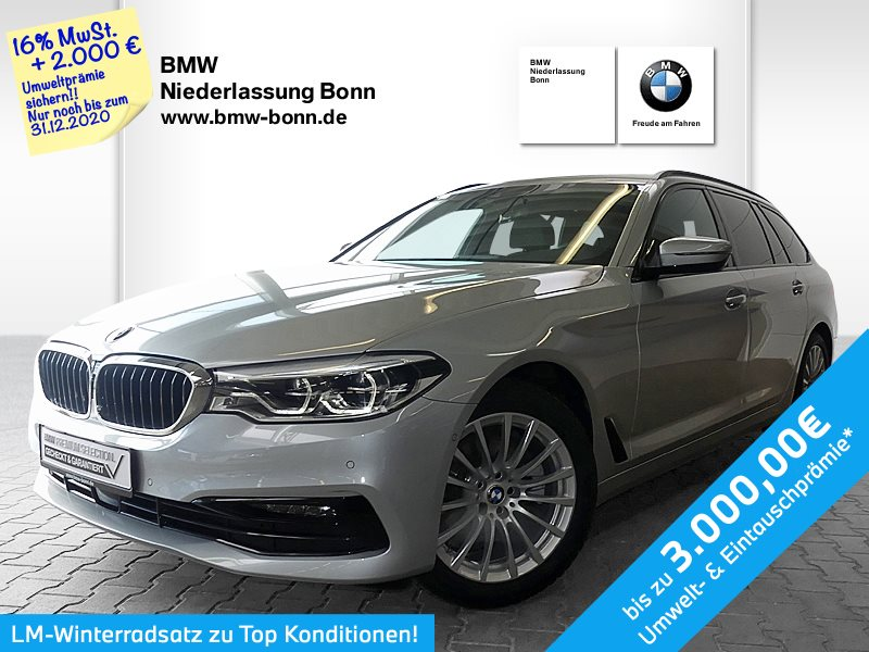 BMW 520d Touring Sport Line, Jahr 2019, Diesel