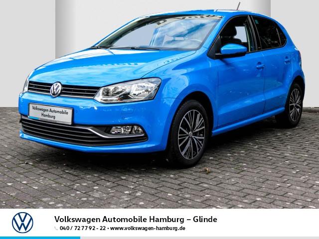 Volkswagen Polo 1.0 Allstar/Ganzjahresreifen/Einparkhilfe, Jahr 2016, Benzin