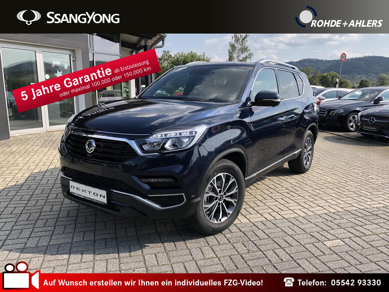 Ssangyong Rexton 2.2 e-XDi Sapphire 4WD 7SITZER+AHK 3,5 TO, Jahr 2018, Diesel