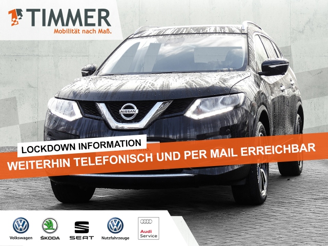 Nissan X-Trail 1.6 dCi 4x4 Tekna *LED*NAVI*LEDER*SHZ*PA, Jahr 2014, Diesel