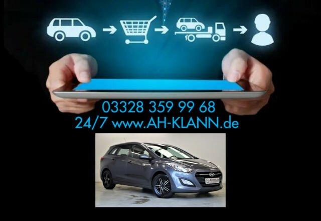 Hyundai i30 cw 1.4 101 PS Classic blue Klima 1.Hand, Jahr 2015, Benzin